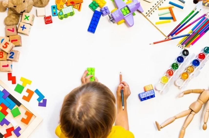 детские игрушки для творчества