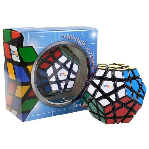 Кубик Рубика Мегаминкс черный Smart Cube SCM1-2