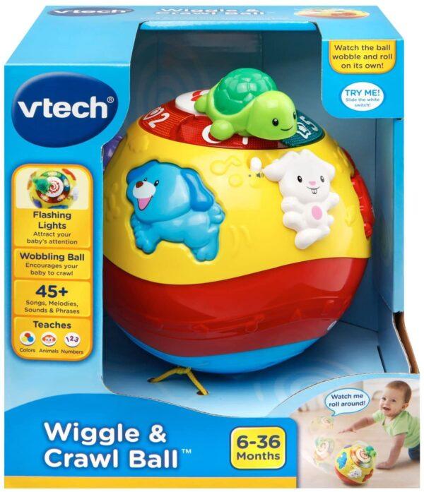 развивающий мяч VTech Wiggle and Crawl Ball