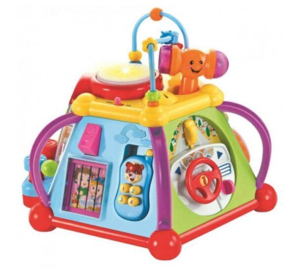 Музыкальная развивающая игрушка Мультибокс