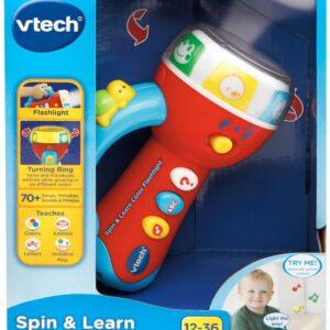 Цветной фонарик VTech Spin & Learn