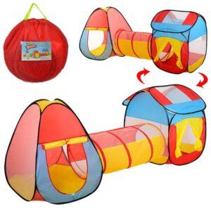 Детская Палатка MR 0017 с тоннелем 80х245х90